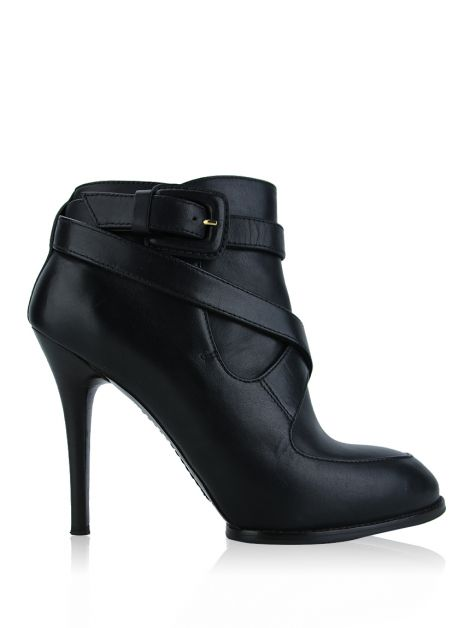 Ankle Boot Tod's Couro Preto