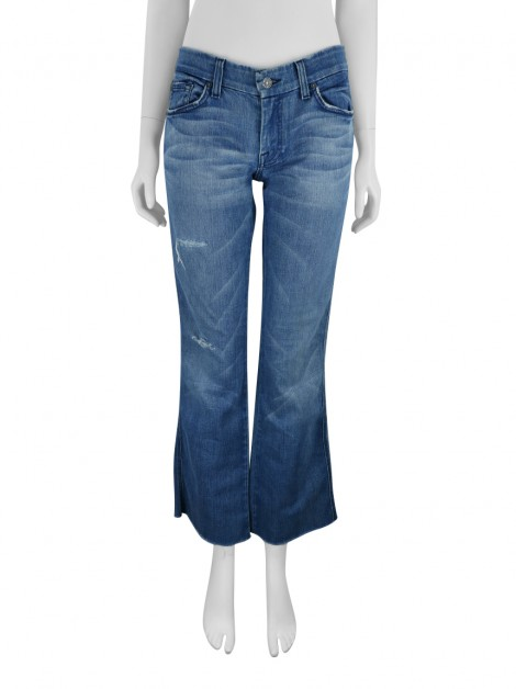 Calça Seven For All Mankind A Pocket Azul