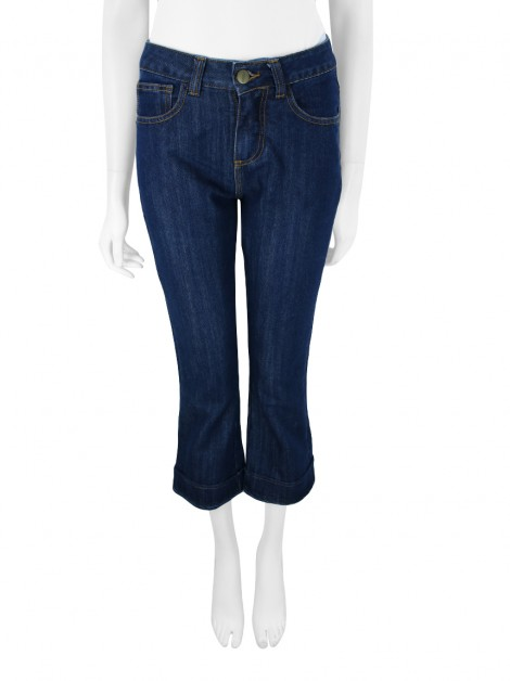 Calça Mixed Cropped Jeans