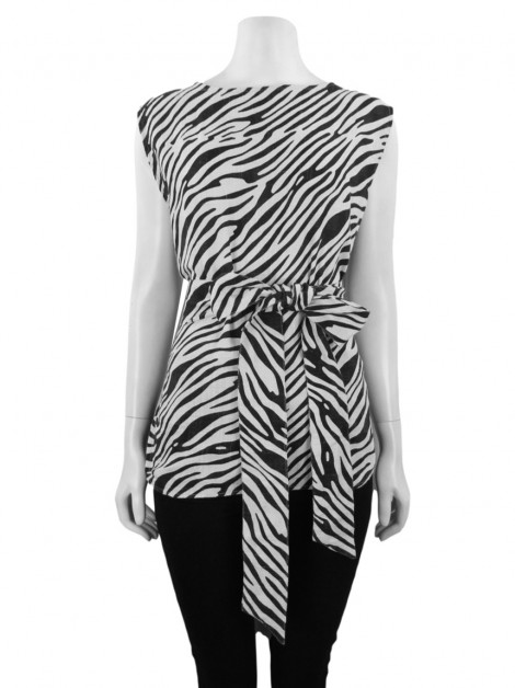 Blusa Pade D Vitoria Animal Print