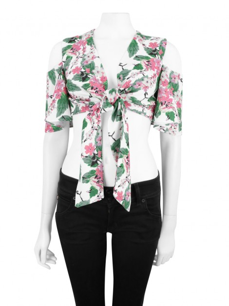 Cropped S Club Floral
