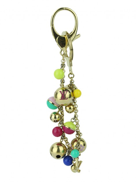 Chaveiro Louis Vuitton Bag Charm Chaine Grelots