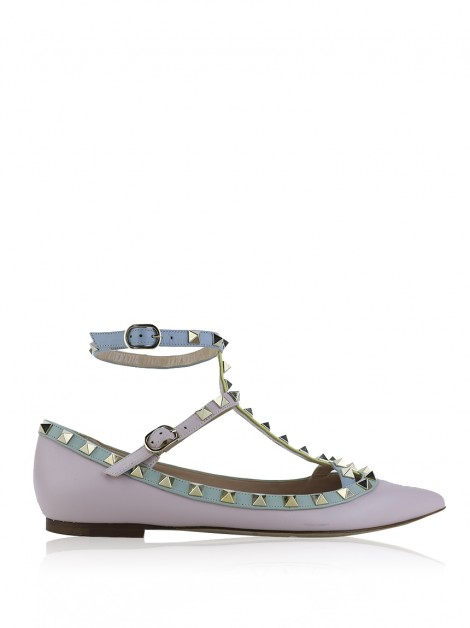 Sapatilha Valentino Rockstud  Watercolor
