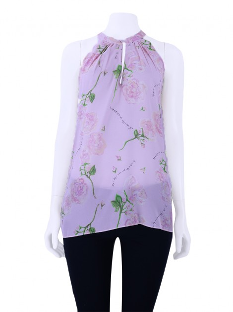 Blusa Mixed Estampa Rosas