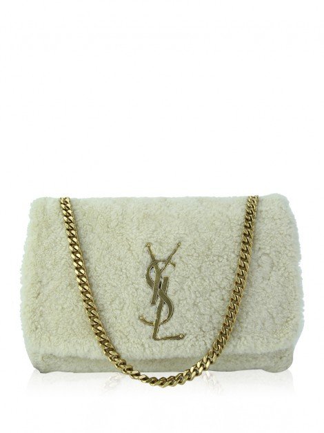 Bolsa Saint Laurent Kate Shearling