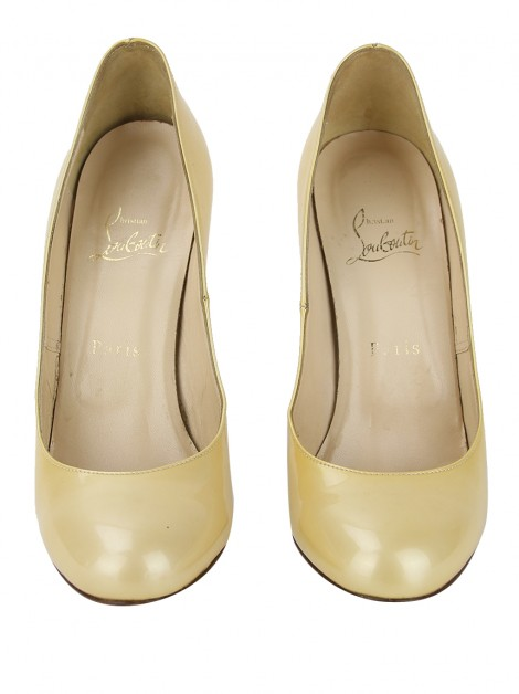 Sapato Christian Louboutin Lady Lynch Marfim