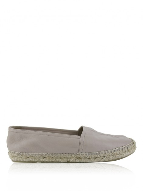Espadrille Yves Saint Laurent Couro Nude