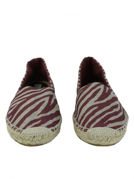 Espadrille Stella McCartney Animal Print Metalizada