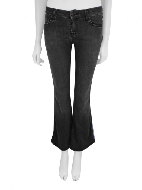 Calça Seven For All Mankind A Pocket Jeans Cinza