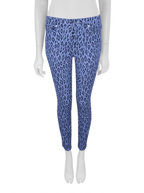 Calça Seven For All Mankind Skinny Animal Print