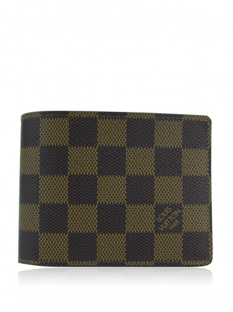 Carteira Louis Vuitton Multiple Damier Ébène