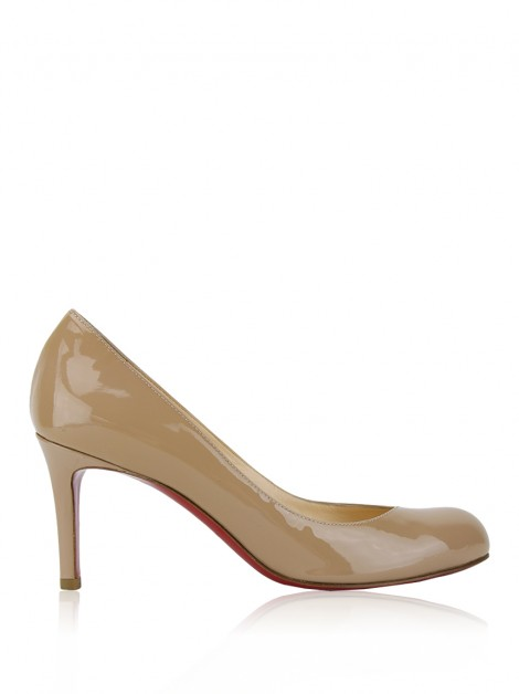 Sapato Christian Louboutin Simple 70 Bege