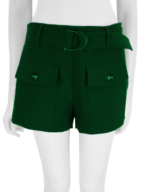 Shorts Mixed Tecido Verde