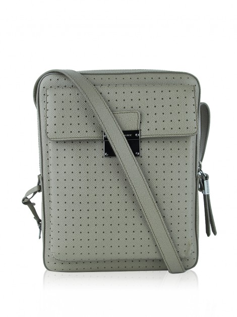 Bolsa Burberry Shaldon Perforated Etoupe