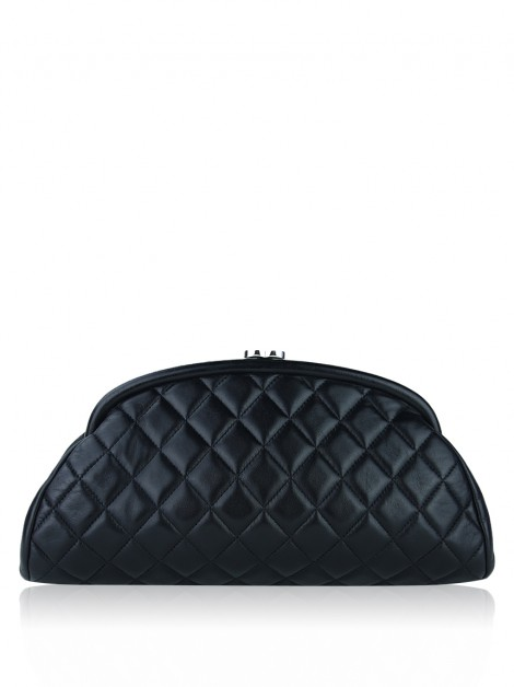 Clutch Chanel Timeless Lambskin Preto