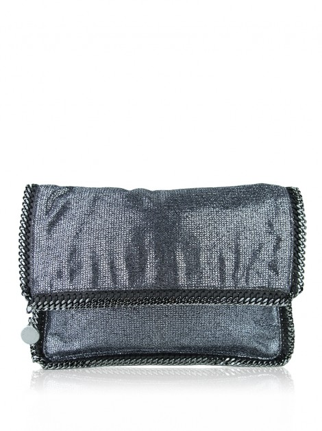 Clutch Stella Mccartney Shaggy Deer Falabella Fold Over Chumbo