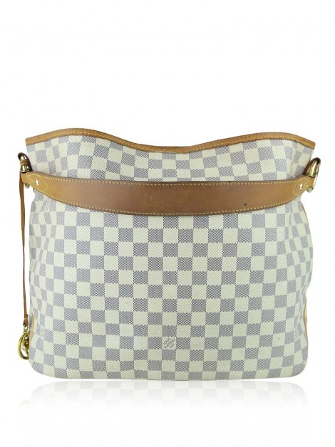 Bolsa Louis Vuitton Damier Azur Delightful MM