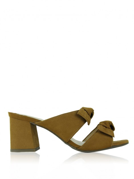 Sapato Fillity Suede Caramelo