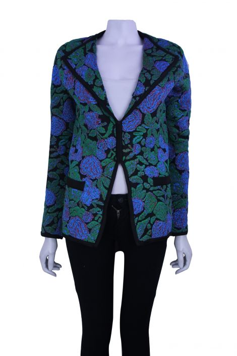 Blazer Animale Floral