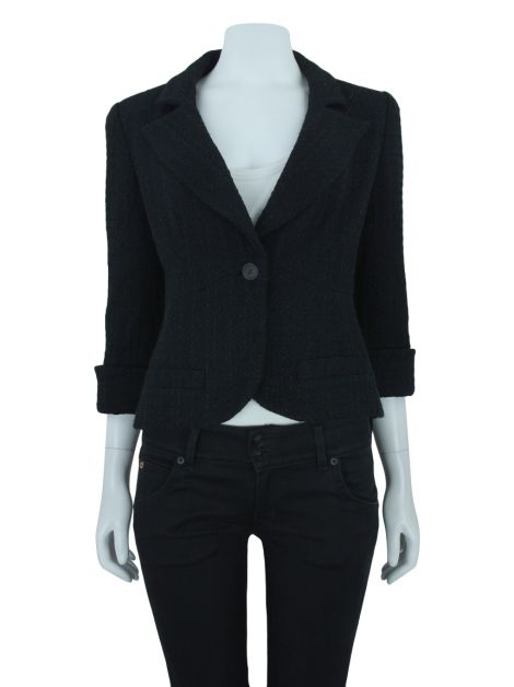 Blazer Chanel Tweed Preto