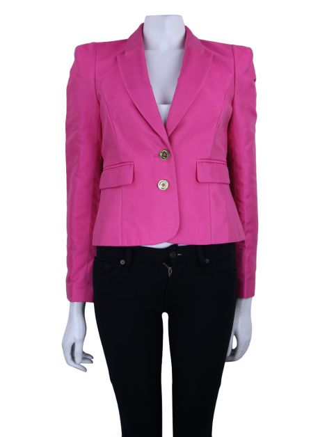 Blazer Juicy Couture Tecido Pink