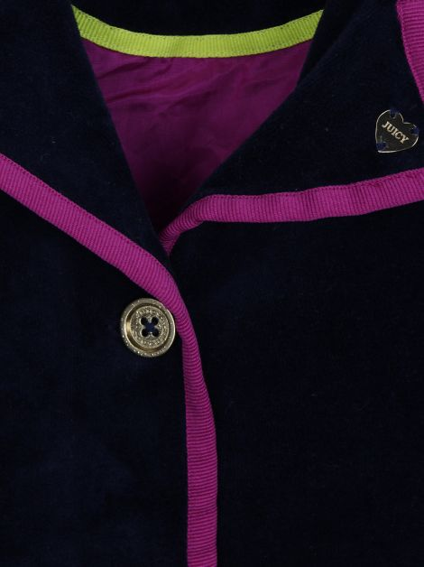 Blazer Juicy Couture Veludo Infantil