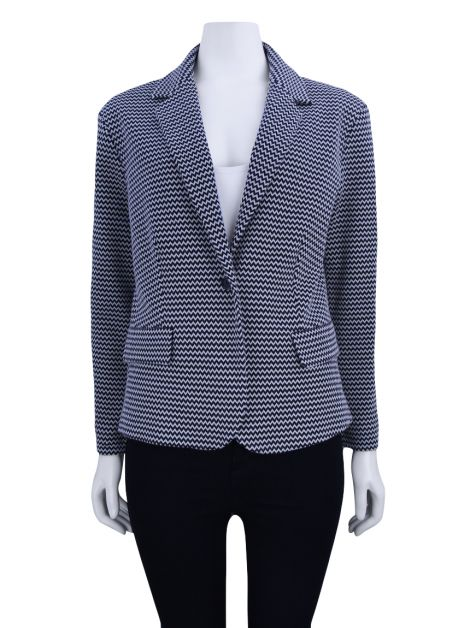 Blazer Max Mara Weekend Chevron P&B