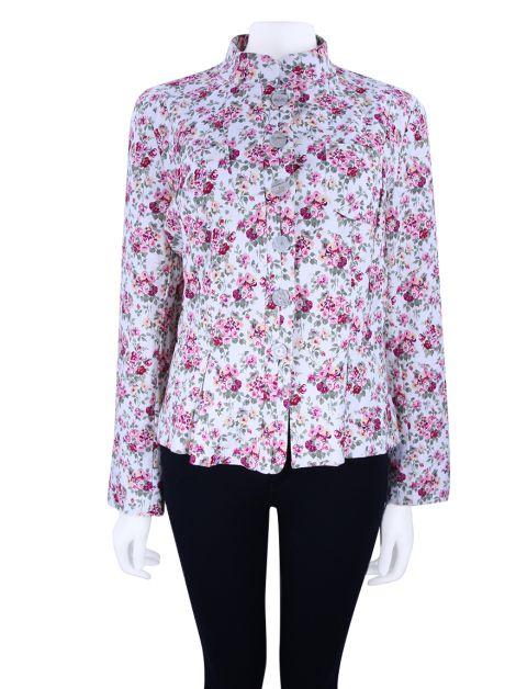 Blazer Mixed Estampa Floral