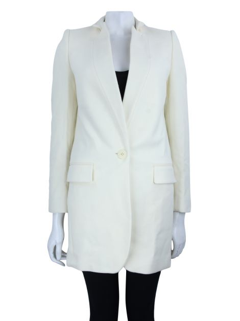 Blazer Stella McCartney Tecido Off White