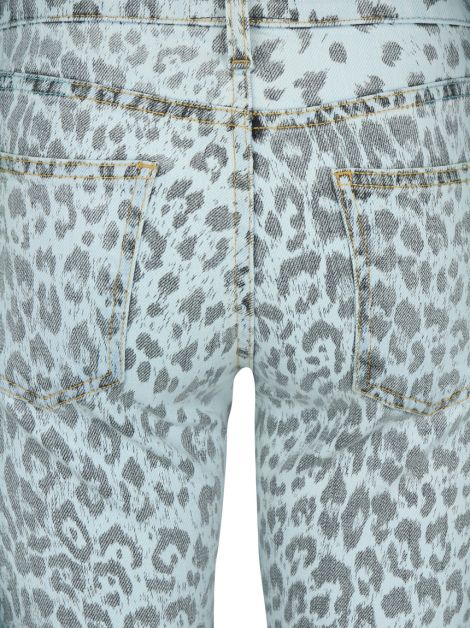 Calça Current Elliott Bleached Out Leopard