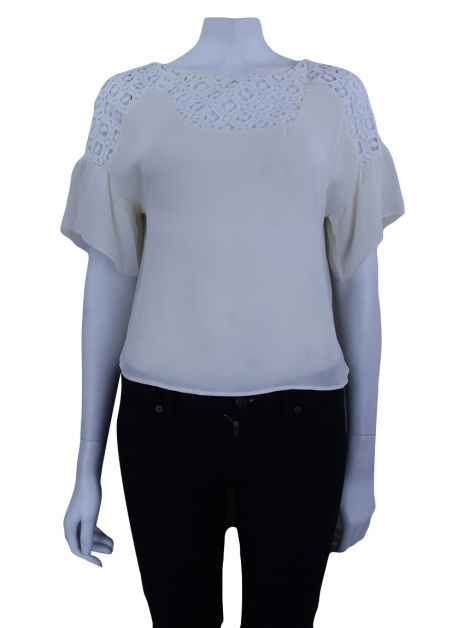 Blusa A. Brand Renda Off White