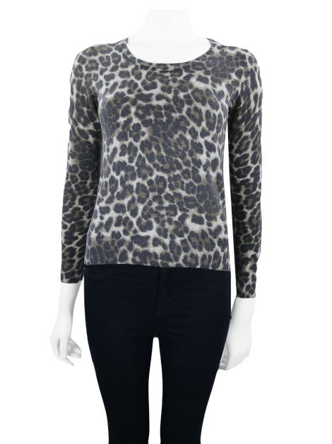 Blusa Achados do EU Gerard Darel Knit Animal Print