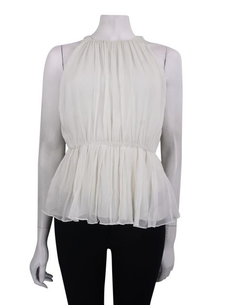 Blusa Alice + Olivia Seda Off White