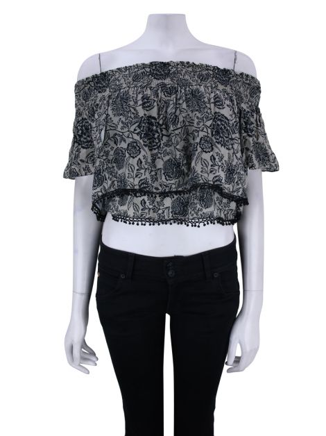Blusa Animale Cropped Floral