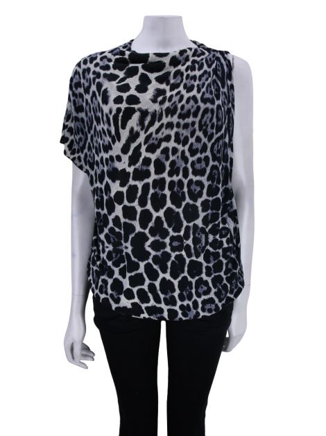Blusa Blumarine Knit Animal Print