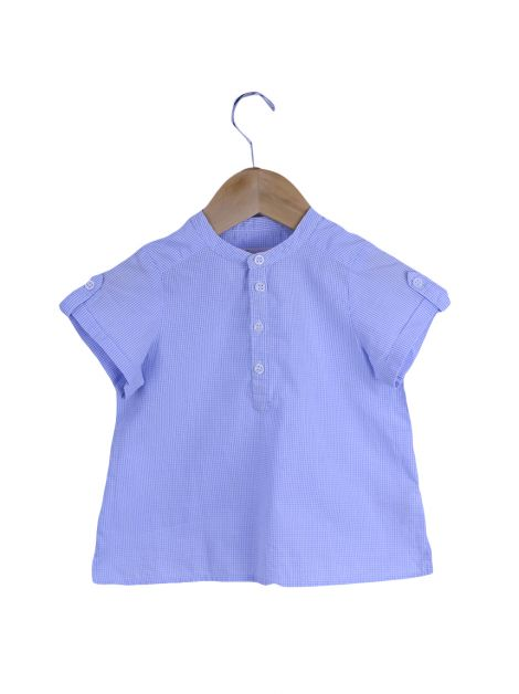 Blusa Bonpoint Xadrez Toddler