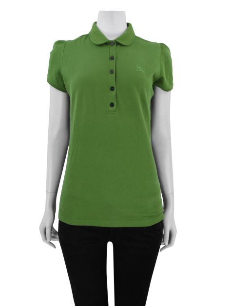 Blusa Burberry Brit polo Verde