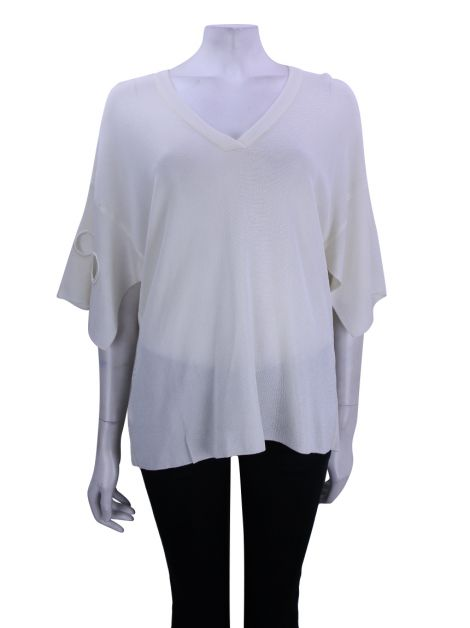 Blusa Coven Retilínea Off White