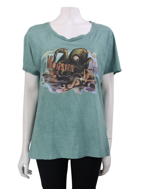 Blusa Cris Barros Monster Verde