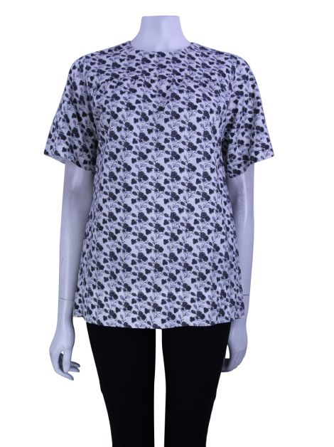 Blusa Louis Vuitton Estampa Floral