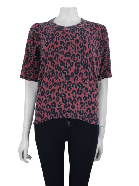 Blusa Louis Vuitton Tricô Leopardo