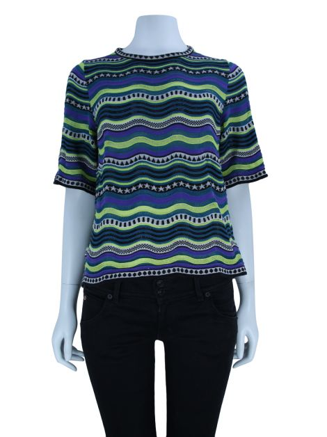 Blusa M Missoni Knit Colorida