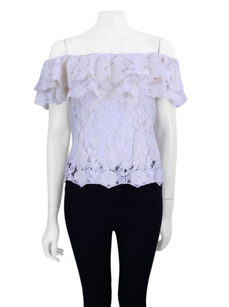 Blusa Martha Medeiros Renda Off-White