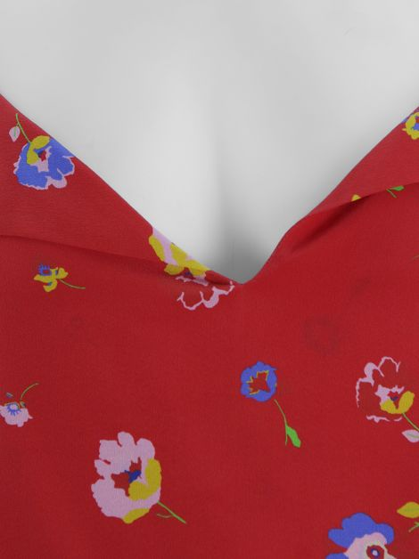 Blusa Mixed Fresh Seda Floral