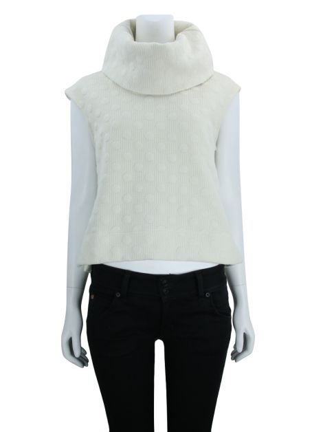 Blusa Mixed Gola Off White