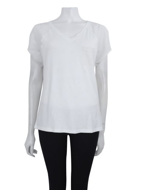 Blusa Mixed Off White Seda