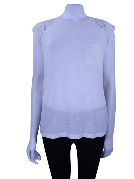 Blusa Mixed Recortes Off White