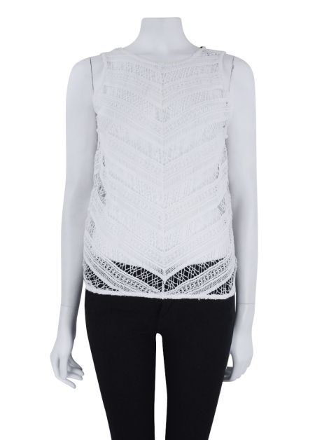 Blusa Mixed Renda Off-White