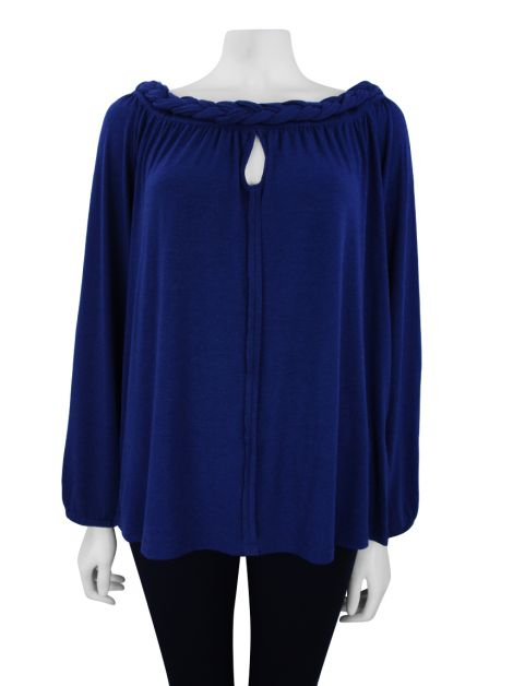 Blusa Mixed Wish Azul