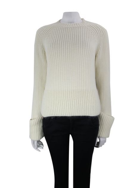 Blusa Moncler Tricot Off White